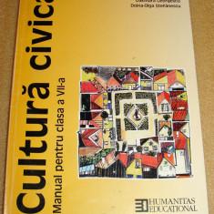 Cultura Civica - D. Georgescu / D.O.Stefanescu - clasa a VII a - Manual scolar Altele, Clasa 4, Alte materii