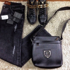 Blugi/jeans Dolce Gabbana D&G slim fit colectie NOUA 2017 AUTENTICI !!! - Blugi barbati Dolce Gabanna, Marime: 34, Culoare: Din imagine, Lungi, Cu rupturi