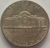 Moneda 5 Centi - SUA, anul 1999 P *cod 4781, America de Nord