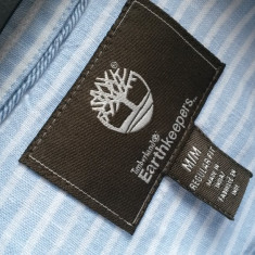 Camasa barbati TIMBERLAND nr.L originala, Marime: L, Culoare: Albastru, Maneca lunga