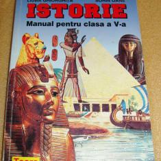 ISTORIE - Clasa a V a - L. Ghiorghita / S. Oane - Manual scolar Altele, Clasa 5
