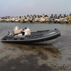 Barca RIB 3D Tender 420 chila aluminiu - Barca pneumatice