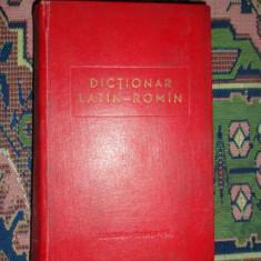 Dictionar latin - roman an 1962/958pagini/format 13x 20.5 cm