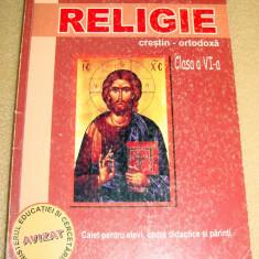RELIGIE crestin / ortodoxa - clasa a VI a - Camelia Muha - Manual scolar Altele, Clasa 6, Alte materii