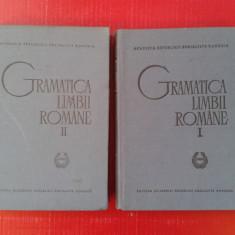 GRAMATICA LIMBII ROMANE 2 volume Academia Romana 1966 Editia a II a - Culegere Romana