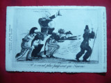 Ilustrata - Stampa istorica satirica - Intoarcerea lui Ludovic XVIII-inc.secXX