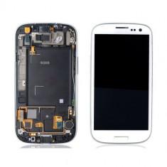 Display ORIGINAL Samsung S3 i9300 alb