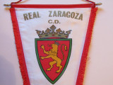 Fanion fotbal(dimensiuni mari) - REAL ZARAGOZA (Spania)