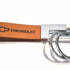 Breloc piele naturala CHEVROLET - Breloc Auto