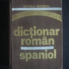 MICAELA GHITESCU - DICTIONAR ROMAN SPANIOL Altele