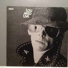 LOU REED (ex VELVET UNDERGROUND) - LIVE(1975/RCA/RFG) - Vinil/Analog/IMPECABIL - Muzica Sarbatori