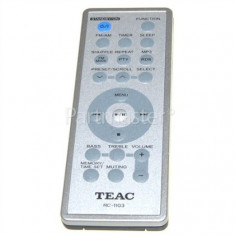 Telecomanda Teac RC1103 Remote Control Silver Original MCDX220I TDX250I - Telecomanda aparatura audio