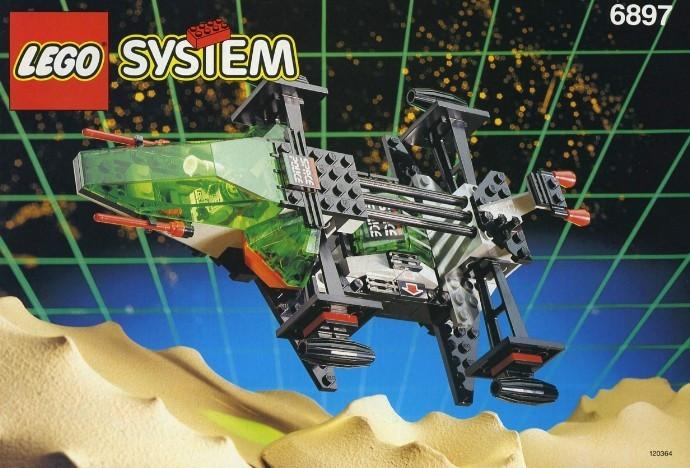LEGO 6897 Rebel Hunter foto mare