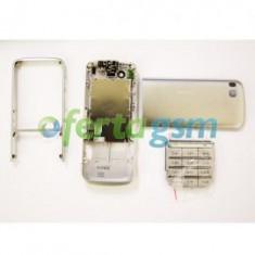 Carcasa originala Nokia C3 - 01 silver