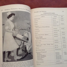 Carte medicina L Engleza Microbiology and Pathology for Nurses - 1951 / 814 pag