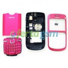 Carcasa originala Nokia C3 pink