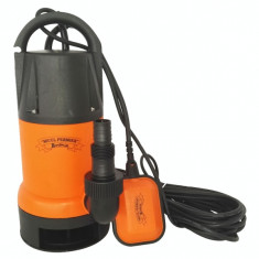 Pompa submersibila din plastic pentru apa murdara 750W