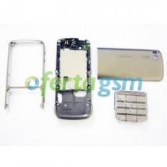 Carcasa originala Nokia C3 - 01 gri deschis