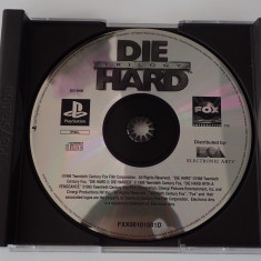 CD DVD Joc original Sony Playstation One PS1 Die Hard Trilogy PAL impecabil, Single player, Shooting, Toate varstele