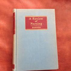 Carte medicina L Engleza A Review of Nursing de Helen F Hansen - 1952 / 844 pag