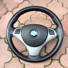 Volan sport cu comenzi complet BMW E90, E91, E92, E93, E87, X1 in stare foarte buna, 1 (E81, E87) - [2004 - 2013]