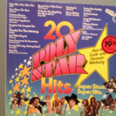 20 SUPER HITS - VARIOUS ARTISTS (1976/POLYSTAR REC/West Germany) - VINIL - Muzica Pop universal records