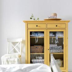 Dulap Hemnes IKEA - galben - stare excelenta