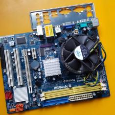 29S.Placa De Baza Asrock G31M-GS R2.0, 2xDDR2-Socket 775+Cooler Intel Miez Cupru, LGA775, MicroATX