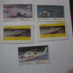 5 cartonase de colectie m1c8 - Cartonas de colectie
