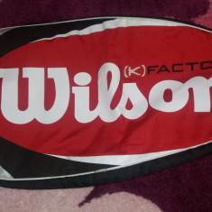 Husa racheta Wilson K Factor, originala - Husa tenis