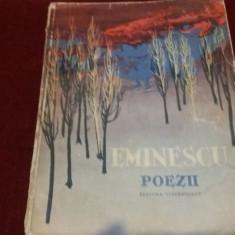 EMINESCU - POEZII 1961 ILUSTRATII PERAHIM - Carte poezie copii