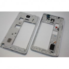 Rama Samsung Note 4 alb carcasa mijloc