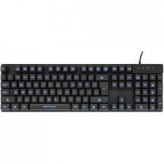 Tastatura Serioux Radiant, Iluminata, USB, Negru SRXK-KBL-003