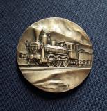Medalie Cai ferate Polonia superba , 70 mm, Europa