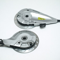 Set frane cu role Shimano BR-IM 45 F/R - Piesa bicicleta