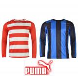 Tricou Barbati maneca lunga Puma original - marimea XXL si XXXL, Albastru, Rosu