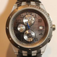 CEAS DE MANA BARBATESC, MARCA SWATCH, AUTOMATIC, D=4.8CM - Ceas barbatesc Swatch, Mecanic-Automatic