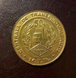 Medalie Centrala de transporturi auto 1984