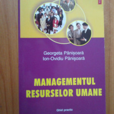 D4 Managementul resurselor umane - Georgeta Panisoara, Ion-Ovidiu Panisoara - Carte Resurse umane