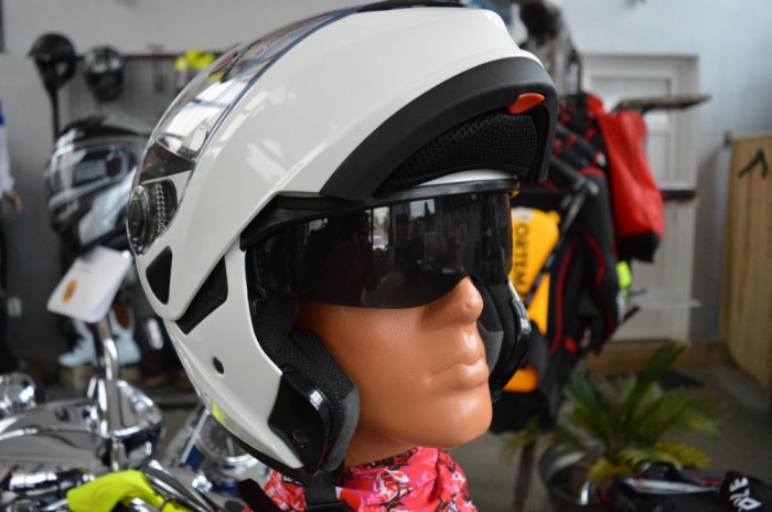 Casca moto rabatabila Ispido Hybrid
