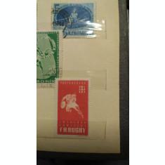 116 timbre vechi 1914-1965 se vinde cu tot cu clasor