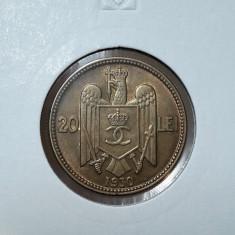 20 lei 1930 H piesa de colectie - Moneda Romania