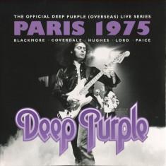DEEP PURPLE - PARIS 1975 - LIVE, DUBLU CD