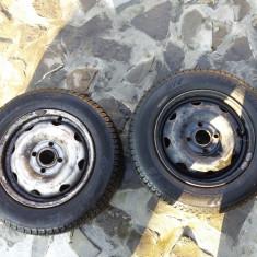 2 jenti + pneuri Matador 165/70/R13 Solenza - Janta tabla Nespecificat, Numar prezoane: 4