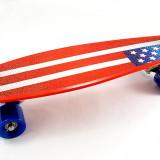 Penny Board Captain America - Skateboard – Pennyboard - rulmenti ABEC 7 - NOU, 23