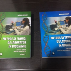 METODE SI TEHNICI DE LABORATOR IN BIOCHIMIE NATALIA ROSOIU  2 VOLUME ,