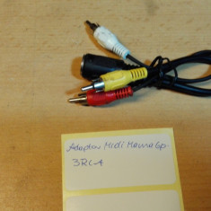 Adaptor Midi Mama 6p - 3 RCA