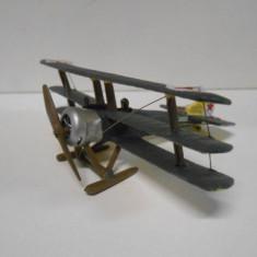 Macheta avion SOPWITH TRIPLANE WW I RAF U.K. scara 1:72 - Macheta Aeromodel