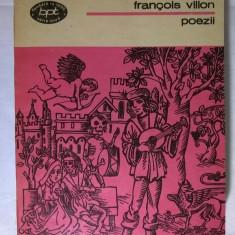 Francois Villon – Poezii - Carte poezie
