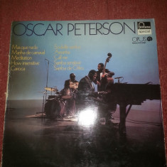 Oscar Peterson ‎- Oscar Peterson -Opus Czechoslovakia 1976 vinil vinyl - Muzica Blues Altele